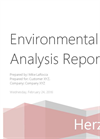 Site Surveys Environmental Analysis Report