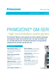 Primozone - Model GM Series - Ozone Generators - Data Sheet