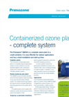 Primozone - SM900 - Containerized Ozone Water Treatment Systems Data Sheet
