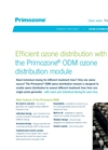 Primozone - Model ODM - Ozone Distribution System - Brochure