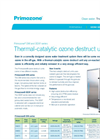 Primozone - Models DM and DEXF Series - Thermal-catalytic Ozone Destruct Units - Brochure