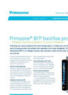 Primozone - Model BFP - Backflow Protector - Brochure