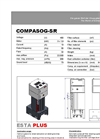 COMPASOG SR - ESTA High Vacuum Power Welding Fume Filter DataSheet