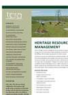 Heritage-Historical Resource Assessments Brochure
