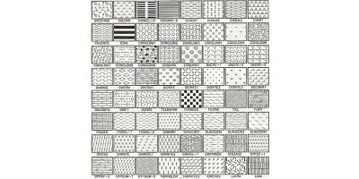 100+ - Hatch Patterns for AutoCAD by RockWare, Inc