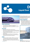 Model DH56 - Liquid Dust Control Brochure