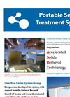 Model ASRT - Portable Sewage Treatment System Brochure