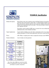 Simpson - WH400-R - POE Ozone Water Treatment System - Brochure