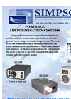Simpson - SF 100 - Air Purifier - Brochure