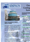 Simpson - CT10 - Cooling Tower System - Brochure