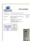 Simpson - SAD-3 - Two Tube Dryer with Pump - Brochure