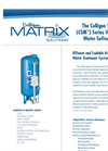 Culligan Side Mount (CSM) Heavy Duty Water Softener System Brochure