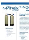 Culligan - High Efficiency Twin Water Softener System Brochure