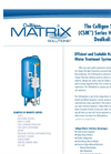 Culligan Side Mount (CSM) - Heavy Duty Water Dealkalizer System Brochure