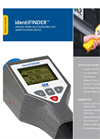 identiFINDER Portable Radiation Detector Brochure