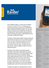 Raider High Resolution Handheld Radioisotope Finder Brochure