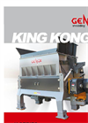 King Kong - Model K - Single Shaft Shredders Brochure