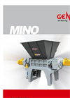 Mino - Model M - Two Shaft Shredders – Brochure