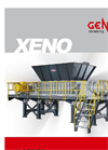 Xeno - Model X1800 - Two Shaft Shredders Brochure