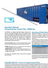 HighRate BioPlant: Packaged Wastewater Treatment Plants - BIOMAX Type - Brochure
