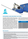 Containerized Sludge Dewatering Plant (CSDP) - Brochure