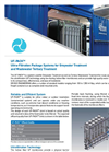 Model UF-PACK - Ultra-Filtration Package Systems - Brochure