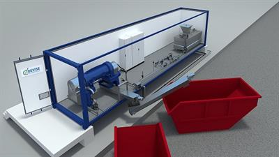 DEVISE - Model CSDP - Containerized Sludge Dewatering Plants