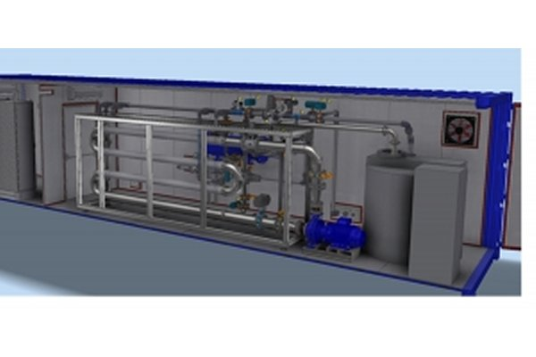 DEVISE - Model ex-MBR - Packaged Plants for Industrial Wastewater & Leachate Treatment