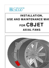 CBI CB Jet Fan Use, Installation & Maintenance Manual