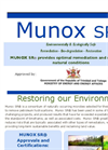 Munox SR - Oil Spill Remediation - Brochure