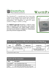 WastePack - Model 1.0 - Cubic Yard Bag Brochure