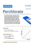 OndaVia - OV-PP-B001 - Perchlorate (ClO4) Analysis Cartridge Brochure