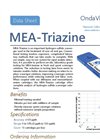OndaVia - OV-PP-B010 - MEA-Triazine Analysis Cartridge Brochure