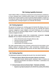 Training- Brochure