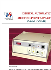 Catalog Digital Automatic Melting Point Apparatus