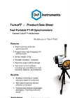 Turbo - Model FT - Fast Portable Spectral Sensors - Datasheet