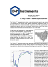 D&P - Turbo FT - FT-IR/NIR Spectrometer Datasheet
