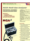MRU - MGA5 - NDIR Multi Gas Analyzer - Brochure
