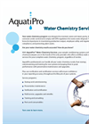 AquatiPro Water Chemistry Services Brochure