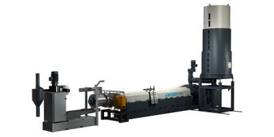 Model GM - Forced Feed Plastic Recycling System