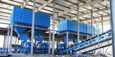 Gamma Meccanica - Mixing, Storage and Weighing of Raw Materials for Rock Wool Production Lines