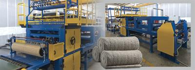 Gamma Meccanica - Stitched Mattresses Production Line