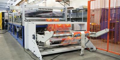 Gamma Meccanica - Model Eco Clean - Cleaning system for the removal of printing ink from flexible plastic films