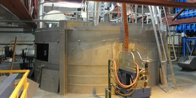 Gamma Meccanica - Melting Furnace for Glass Wool Production Lines