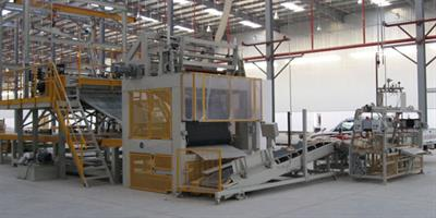 Gamma Meccanica - Roll Up Machine for Rock Wool Production Lines