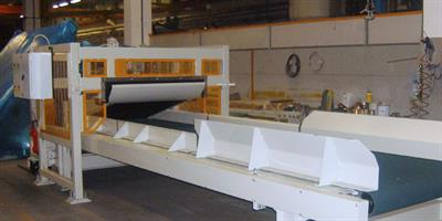 Gamma Meccanica - System to Recover Production Waste and Edge-Trims for Rock Wool Production Lines