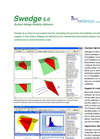 Swedge - 3D Surface Wedge Analysis for Slopes Product Sheet