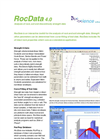 RocData - Rock, Soil and Discontinuity Strength Analysis Product Sheet