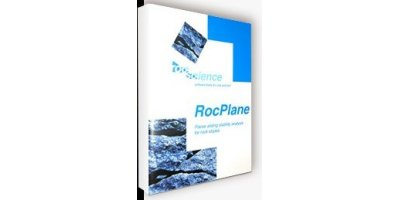 RocPlane - Planar Sliding Stability Analysis for Rock Slopes