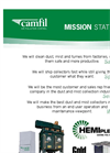 Camfil Air Pollution Control - Mission Statement Brochure